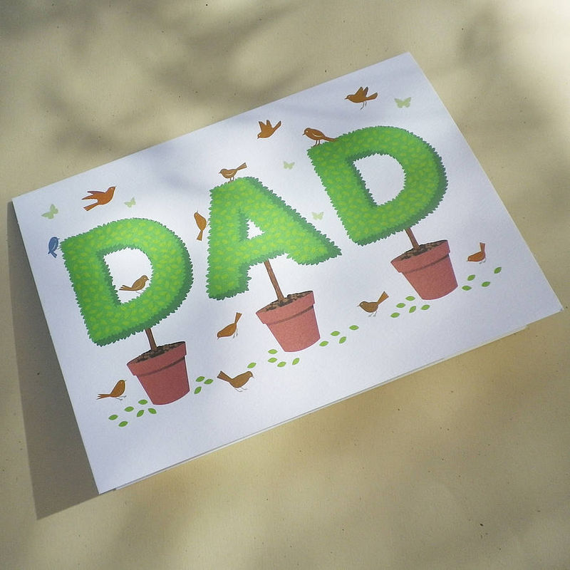 Topiary Dad Gift Card