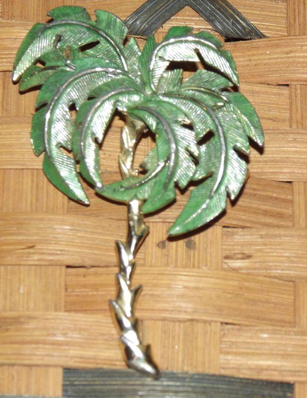 Vintage Palm Tree Brooch Faith S Serendipity Vintage Jewelry