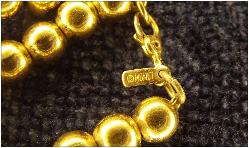 Monet Vintage Bead Necklace Faith S Serendipity Vintage Jewelry