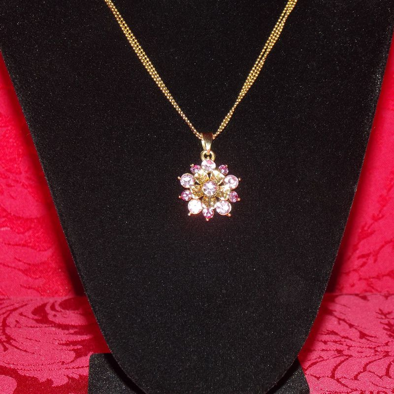 Cookie Lee Pink Necklace Faith S Serendipity Vintage Jewelry