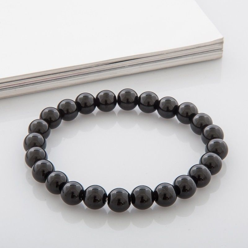 Black Onyx Bracelet Strength Energy Everyday A Mala