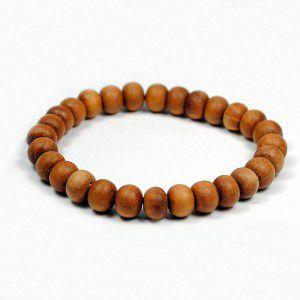 Sandalwood Mala Bracelet 27 beads - Buddha Store