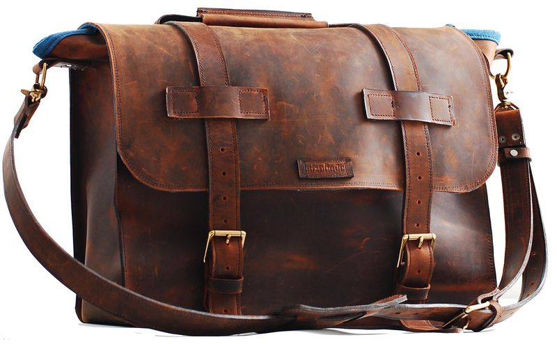 Uni Leather Bag For Any Specialty In Full Grain Mustang Product Images Of