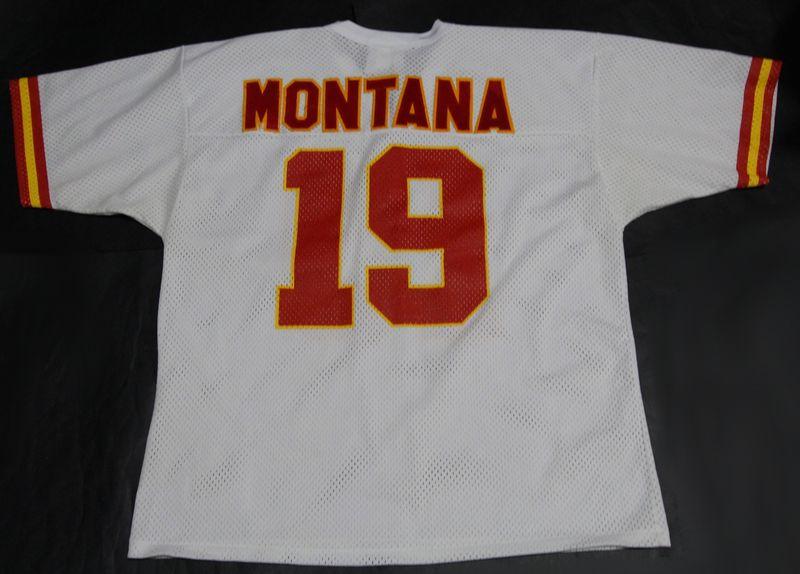 best service 71395 378f7 Vintage Kansas City Chiefs #19 Joe Montana NFL jersey by Logo Athletic -  Size L