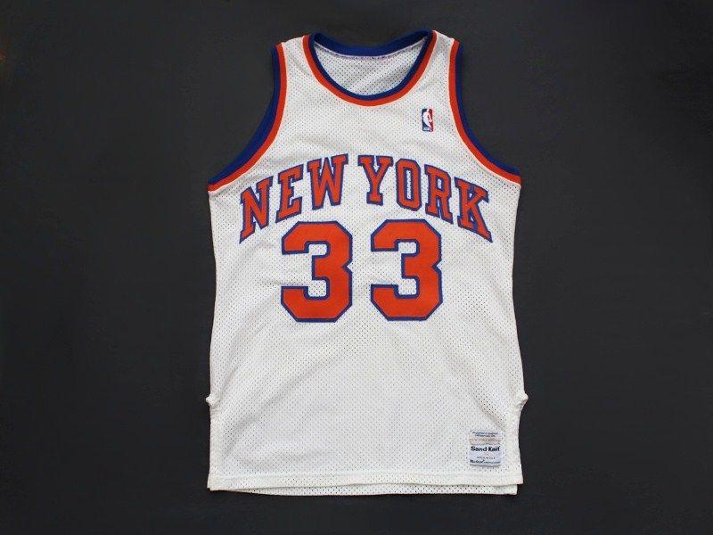 best service 5ab67 05781 Vintage Patrick Ewing #33 New York Knicks authentic NBA jersey by Sand Knit  size 38