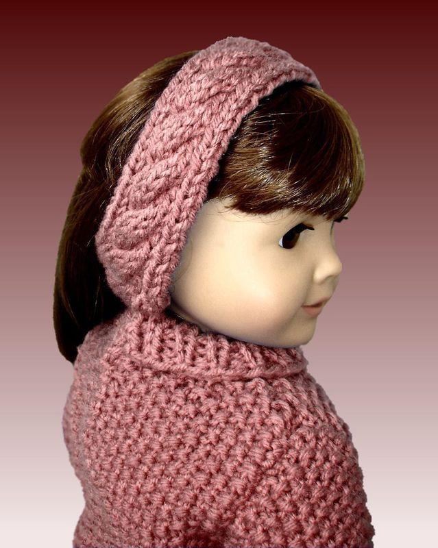 18 Inch Doll Knitting Pattern Fits American Girl Doll