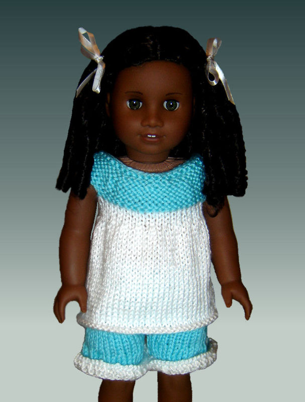 Knitting Pattern Fits American Girl And 18 Inch Doll