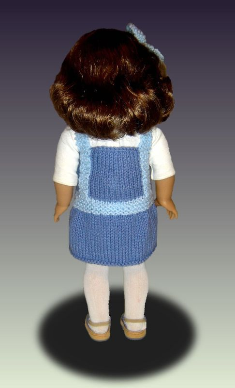 Doll Jumper Knitting Pattern For American Girl And 18