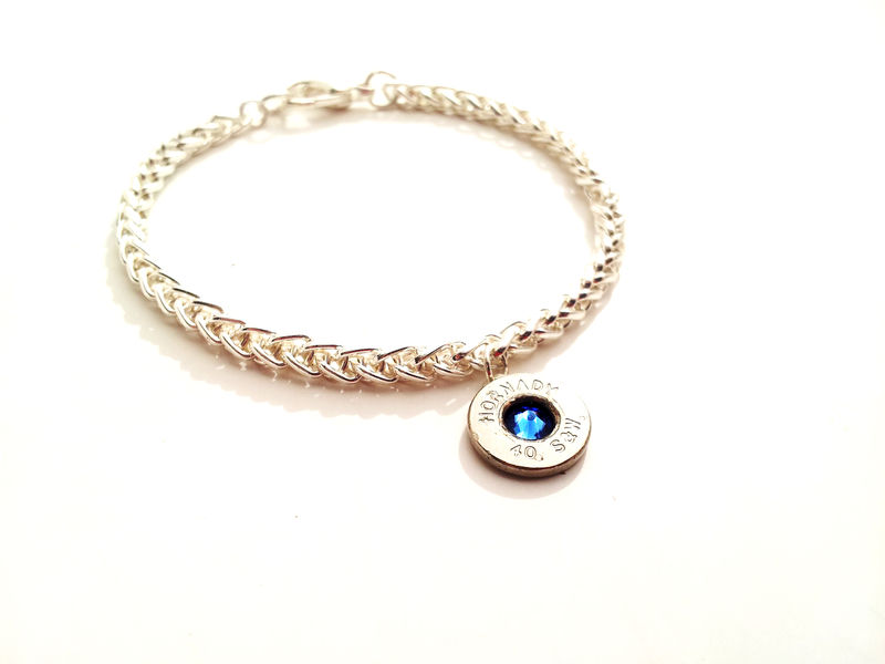 Silver Bullet Birthstone Charm Bracelet Product Image