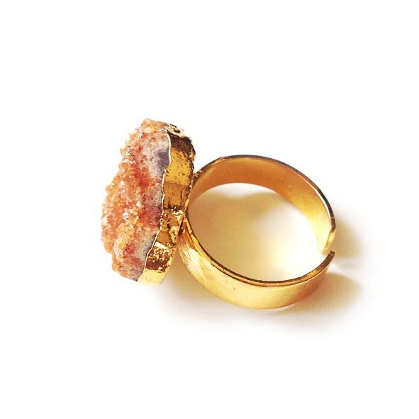 b33abc7e6b5a3 Raw Citrine Ring
