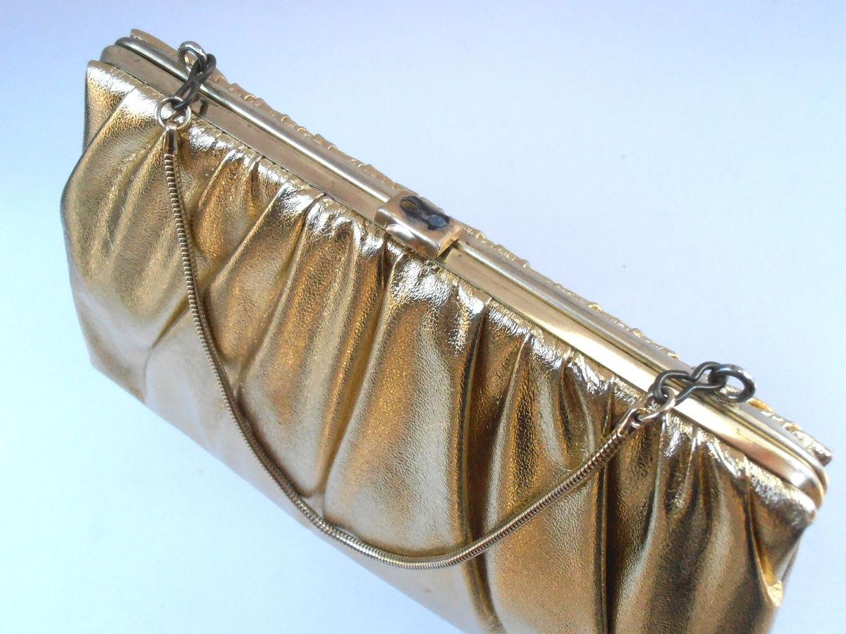 Unique Gold Diamante Diamond Crystal Evening bag Clutch ...  Formal Gold Clutches