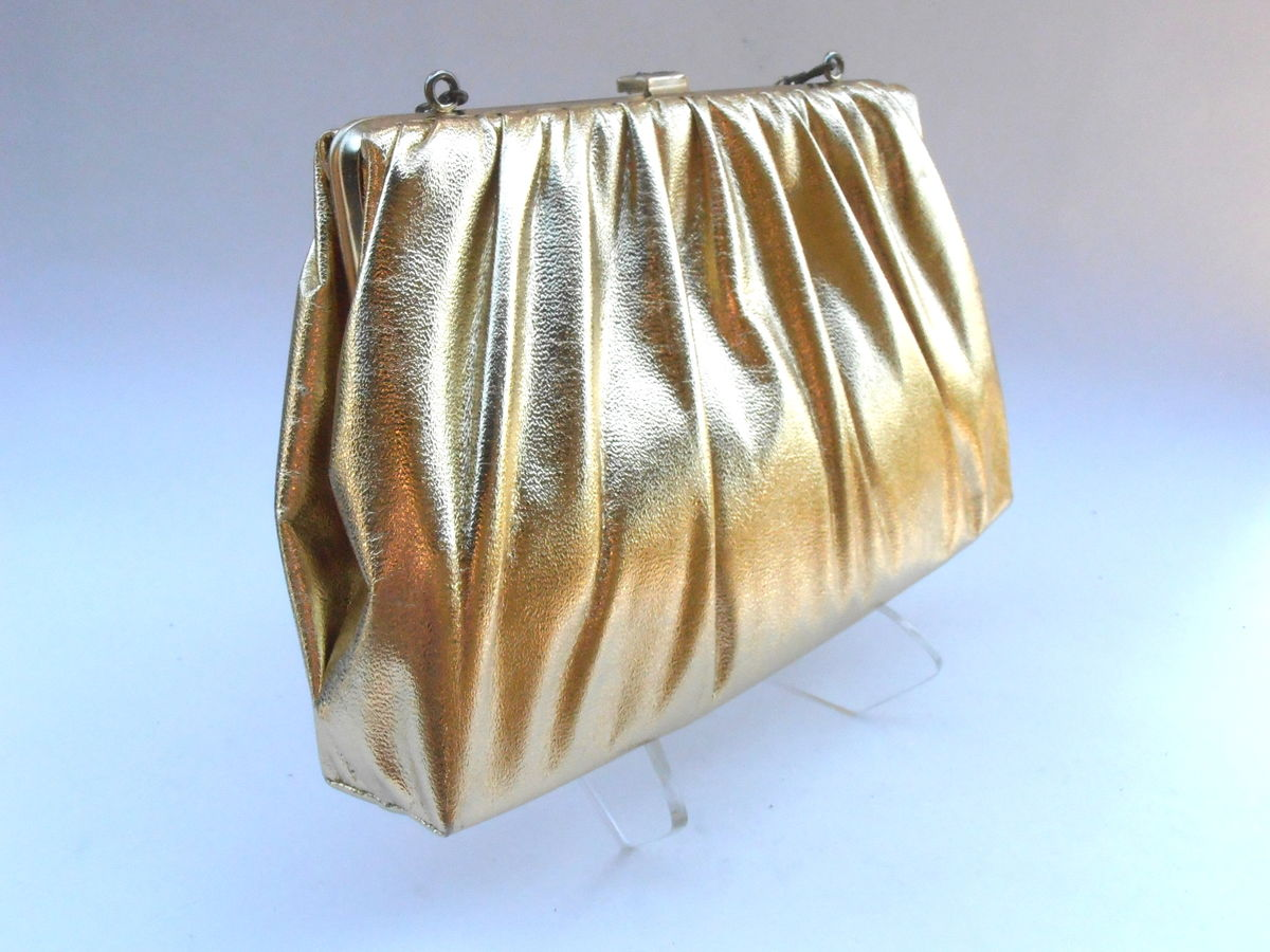 Ladies Diamante Crystal Evening Bag Bridal Wedding Clutch ...  Formal Gold Clutches