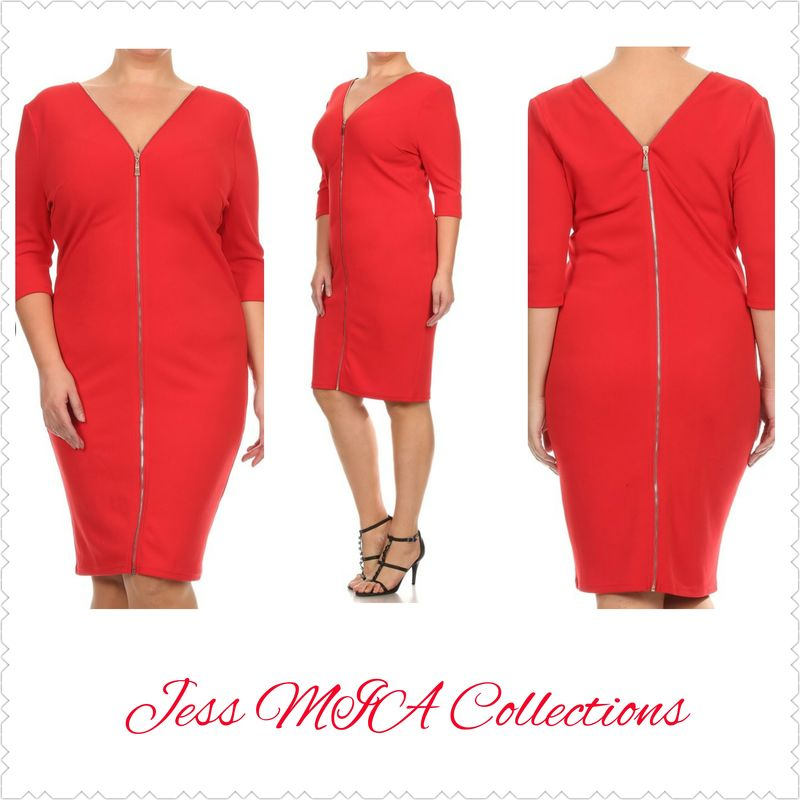 8fcb15ed1abfe The Red Bombshell Dress - Jess MIA Collections
