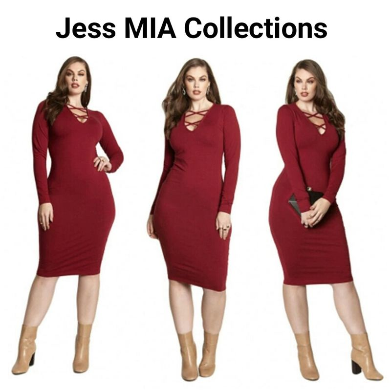 8faa6816c7146 The Ruby Dress - Jess MIA Collections
