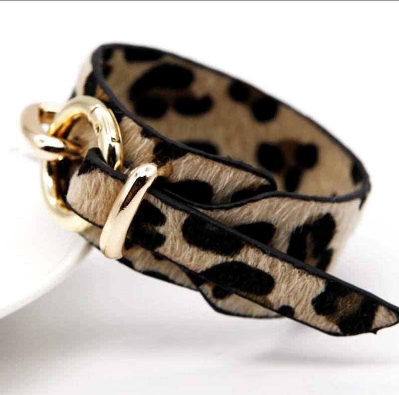 9e323f8e59c77 The Cheetah Print Bracelet - Jess MIA Collections