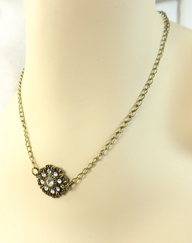 Necklace Rhinestone Medallion womens jewelry charm necklace - product  images of ... db680e9932