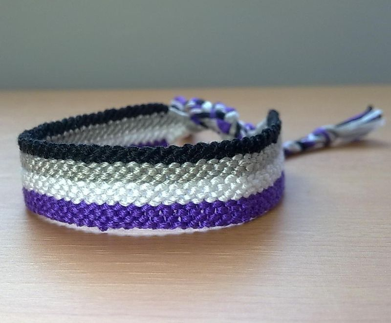 Friendship Bracelet Stripes 4 Colors Made To Order