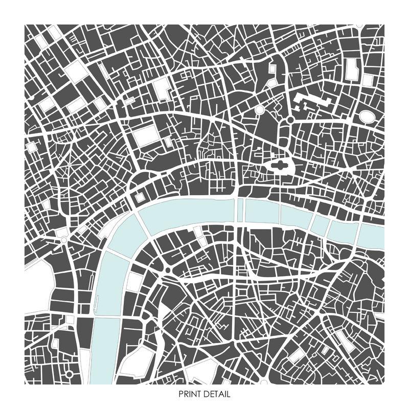 London City Map Printable.London Map Art Print Limited Edition Prints