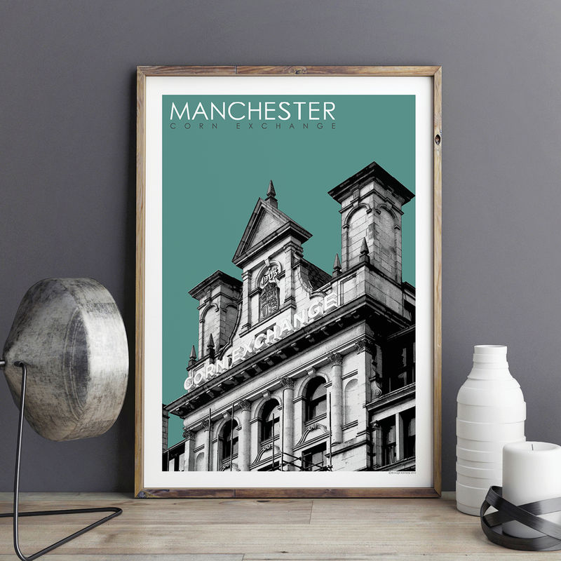 Manchester Prints Collection Bronagh Kennedy Art Prints