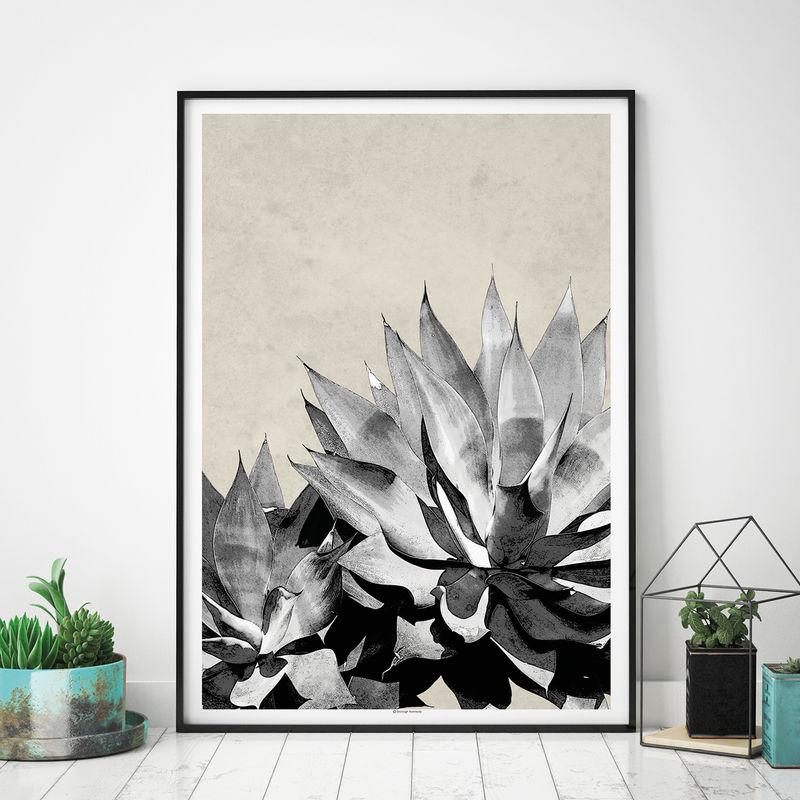 Set Of 2 Botanical Art Prints