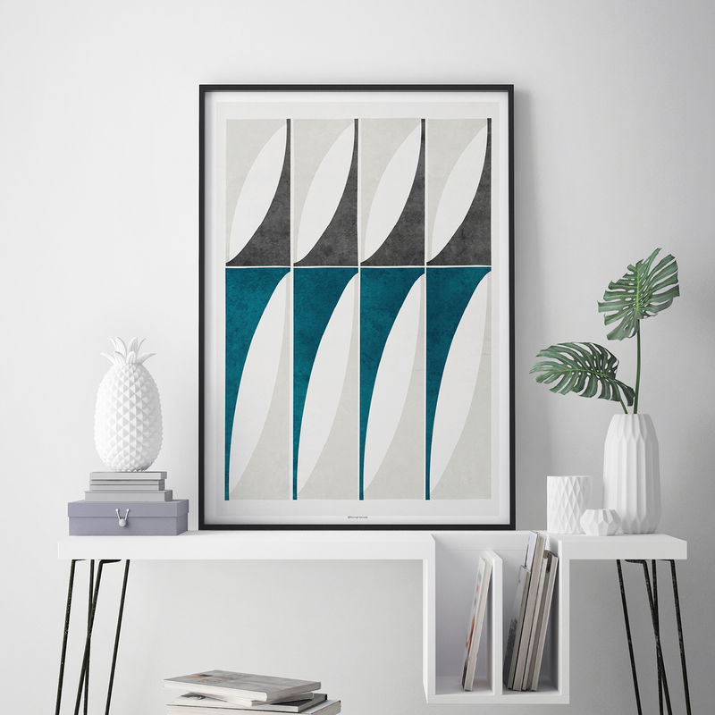 Abstract Geometric Art Prints