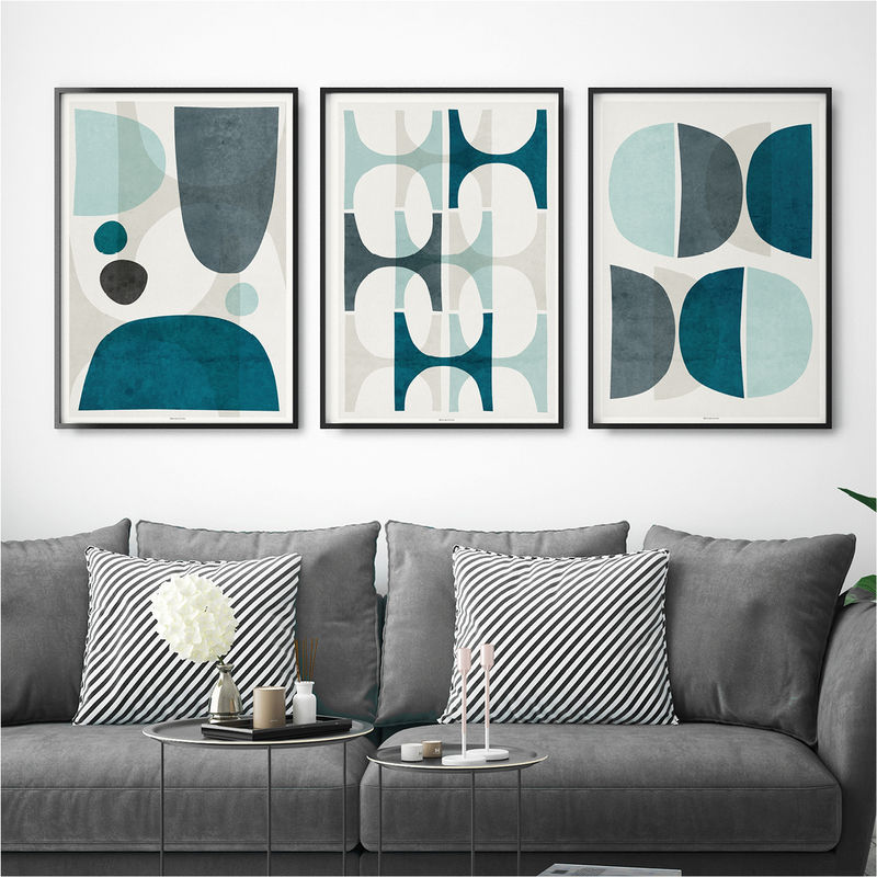 Set of 3 Wall Art Prints Collection - BRONAGH KENNEDY ART PRINTS