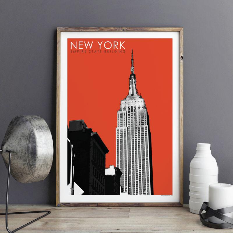 new york wall art print city prints new york gift. Black Bedroom Furniture Sets. Home Design Ideas
