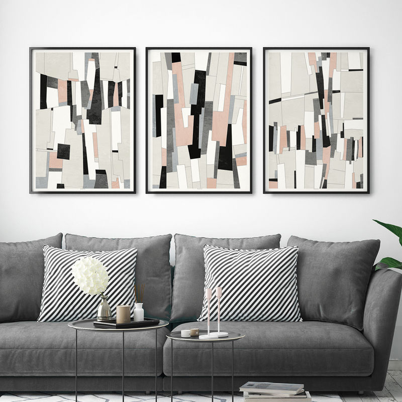 ABSTRACT ART PRINTS Collection