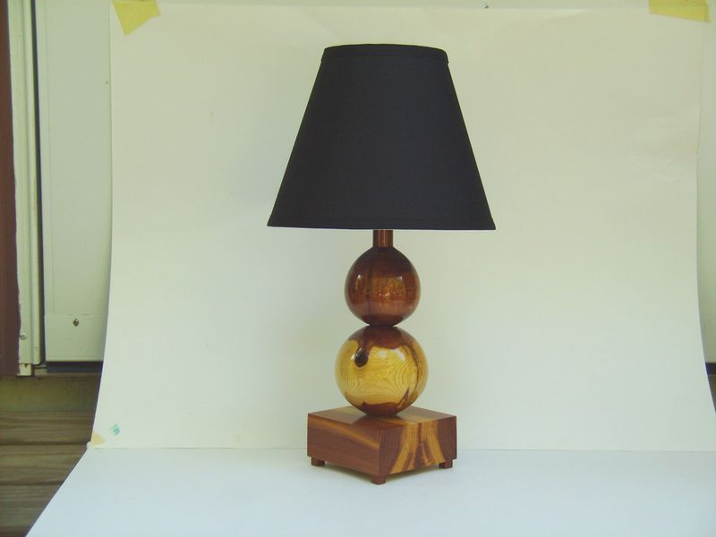 Red Cedar Table Lamp All The Finest In Wood