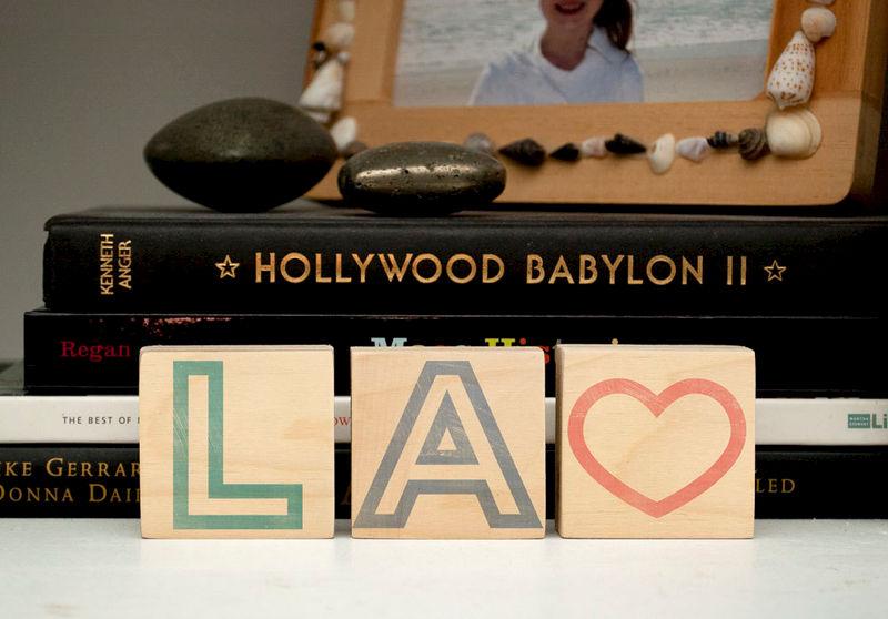 Letter Art Print.Los Angeles Art La City Love Letter Art Blocks 2 X 2 Set Of 3 Los Angeles Print La Art Print Wedding Gift Idea