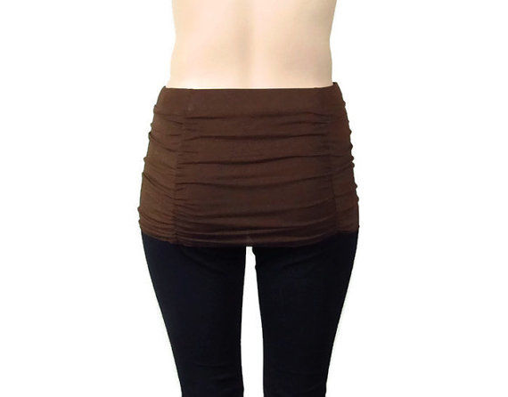 45596934cc998d The 360 Ruched Yoga Skirt to Create Skirted Yoga Pants - Kobieta Clothing  Company