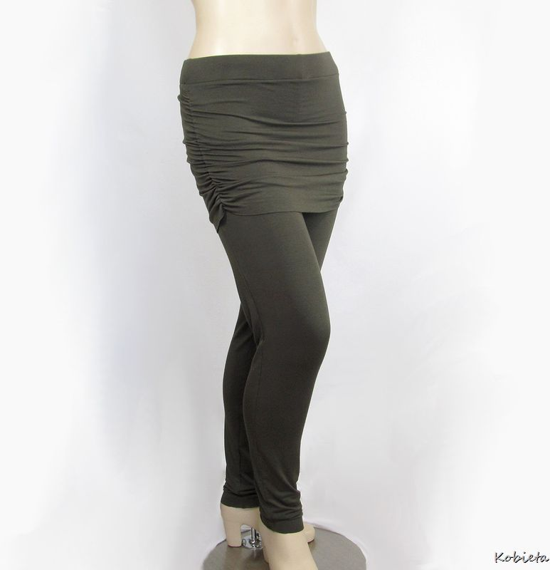 235d55b964a398 ... Ruched Yoga Skirt to Create Skirted Yoga Pants - product images of ...
