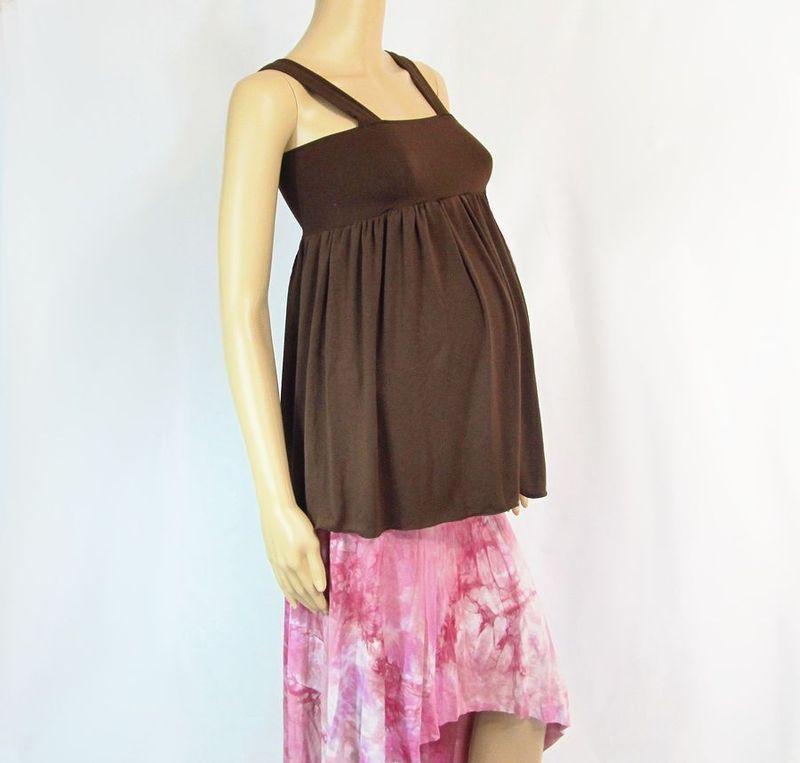 3571bc4ad585 Maternity Babydoll Style Halter Top - Kobieta Clothing Company