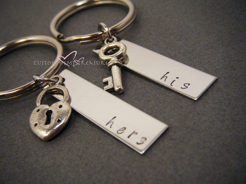Stores That Accept Paypal Credit Online >> His Hers Keychains - CustomHempTreasures