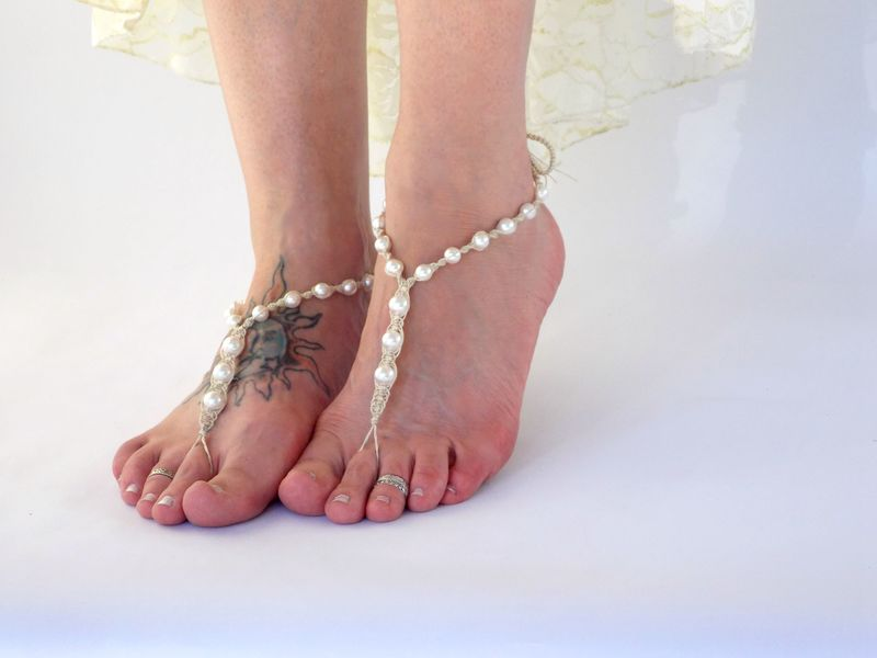 e2d3bf356898 Pearl Barefoot Sandals - MoJo s Free Spirit