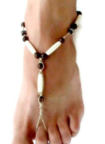 573a8bc8db4fa Dirty Hempie Hairpipe Barefoot Sandals - MoJo s Free Spirit