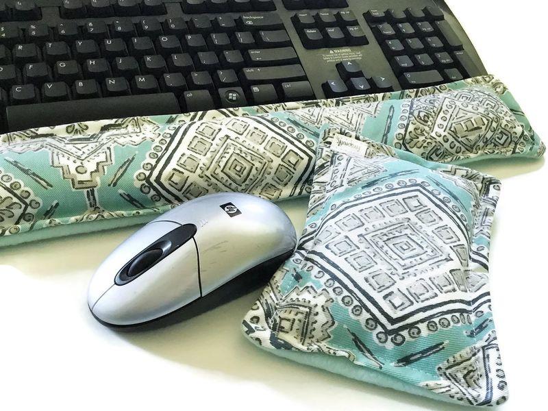 Hot Cold Ergonomic Keyboard Wrist Pads Microwaveable