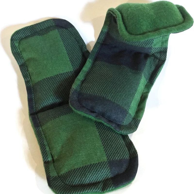 Heated Foot Pads Microwave Socks Or