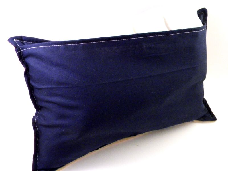 Lumbar Pillow With Microwave Heating Pad Insert Lower