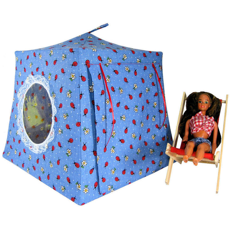 Ladybug-tent-and-tunnel-combo pacific play tents.