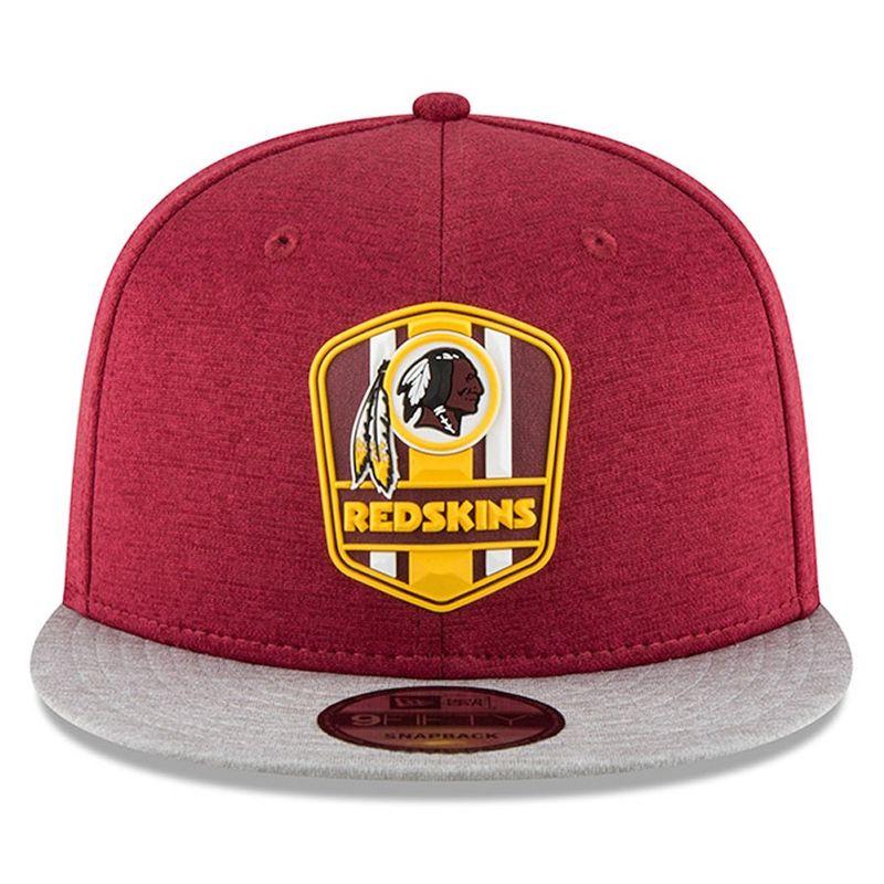 quality design 451ba 02bb2 ... Washington Redskins New Era 2018 NFL Sideline Road Official 9FIFTY  Snapback Cap - product images of ...