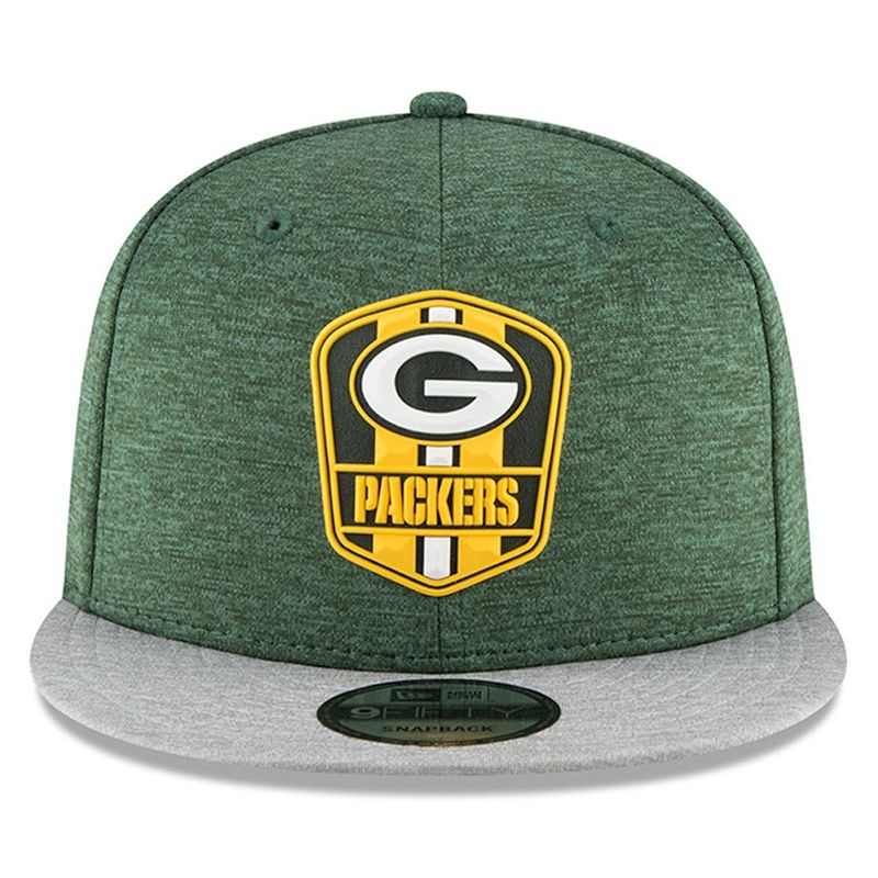 66fdbf8ea ... canada green bay packers new era 2018 nfl sideline road official 9fifty  snapback cap product images
