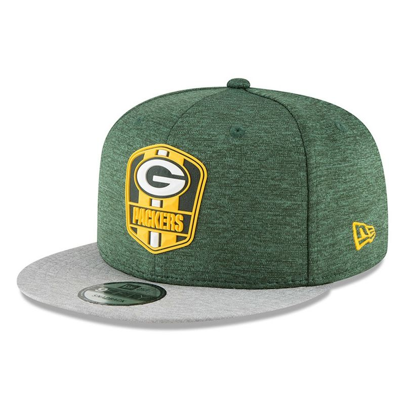 ... wholesale green bay packers new era 2018 nfl sideline road official  9fifty snapback cap victory sports 1f95d4ebd