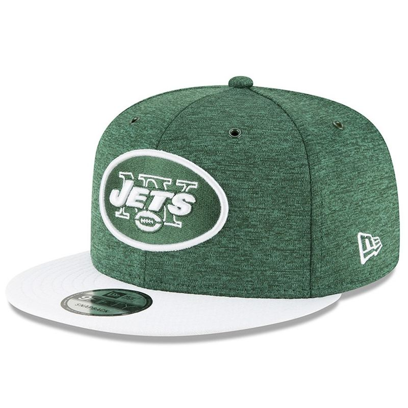 sports shoes a7457 d810c ... greece new york jets new era 2018 nfl sideline home official 9fifty  snapback cap victory sports ...