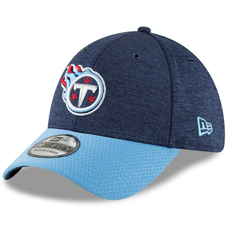 e2ac104ee ... discount code for tennessee titans new era 2018 nfl sideline home  official 39thirty cap victory sports
