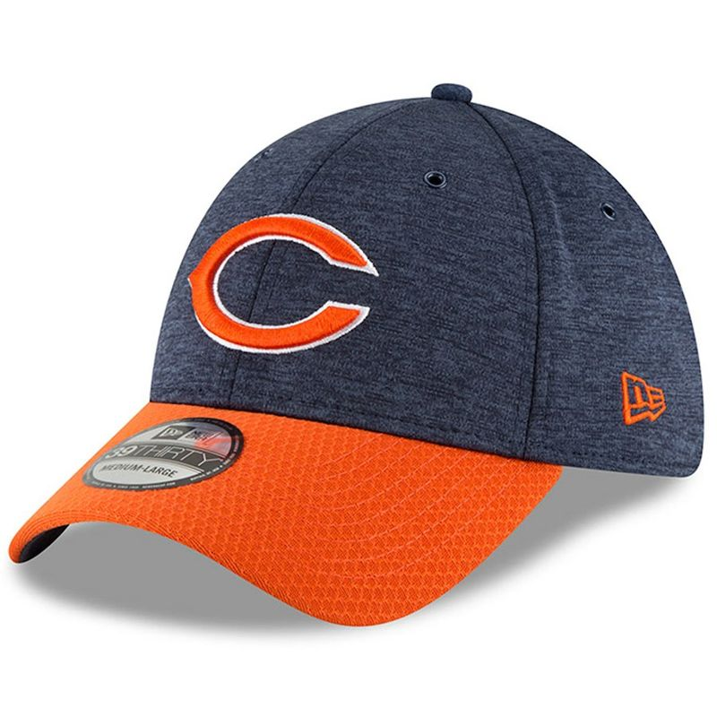 c585afb6128 ... promo code for chicago bears new era 2018 nfl sideline home official 39thirty  cap victory sports