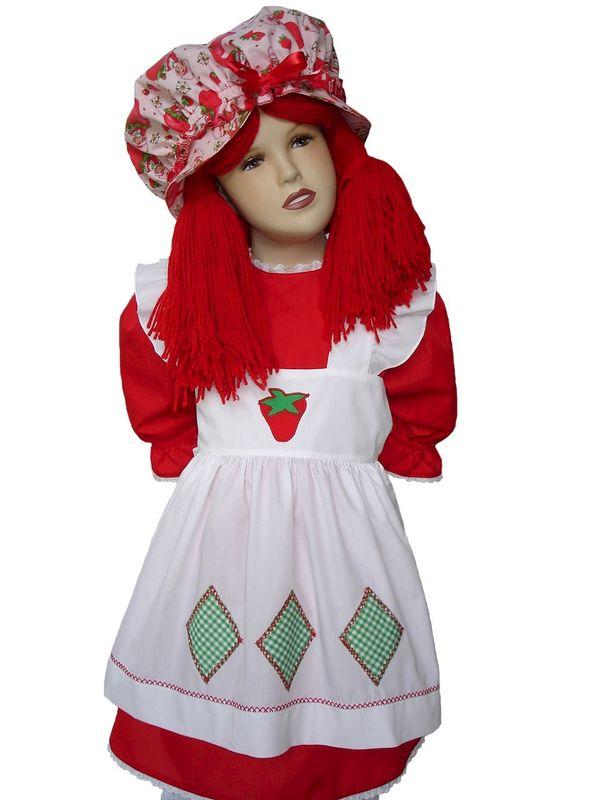 Custom Boutique Halloween STRAWBERRY SHORTCAKE Girlu0027s Costume Set - product images of  sc 1 st  Magical Attic & Custom Boutique Halloween STRAWBERRY SHORTCAKE Girlu0027s Costume Set ...