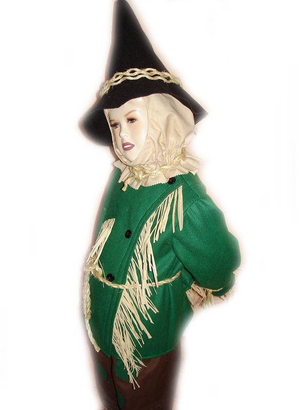 Custom Boutique Scarecrow Of Wizard Of Oz Child S Size