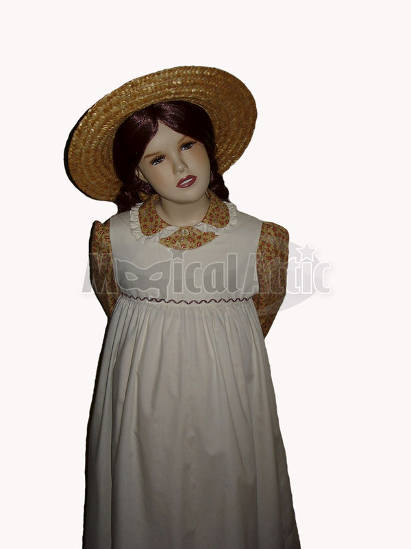 6a587be0a27 Custom Boutique Anne of Green Gables Girl's Costume Dress Set