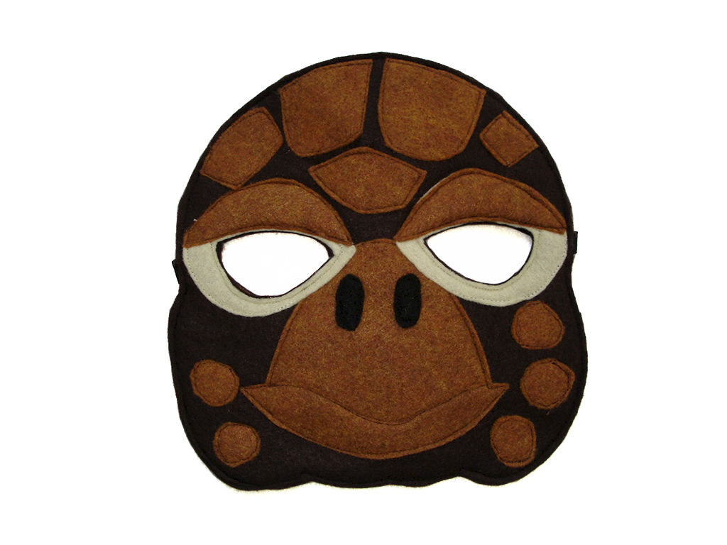 tortoise mask template children 39 s animal turtle felt mask magical attic
